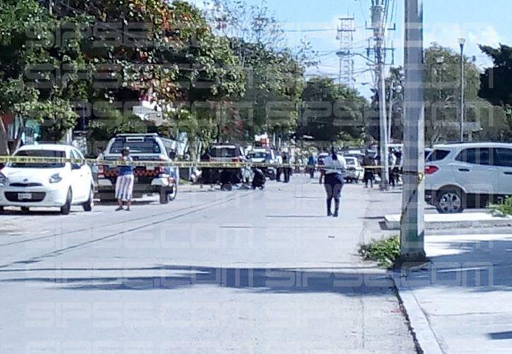 Sujetos agredieron a los policías con un machete en Tulum. (Foto: Redacción)