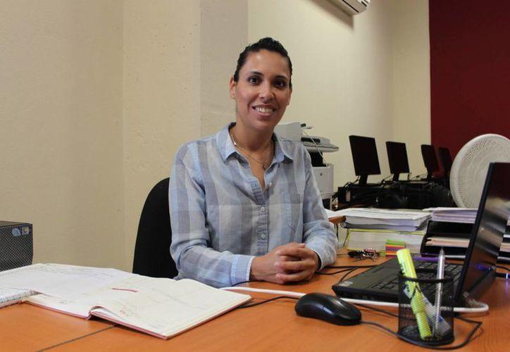 Carmen Villatoro de Anda, coordinadora de Incubadora Social con sede en la Uqroo. (Yenny Gaona/SIPSE)