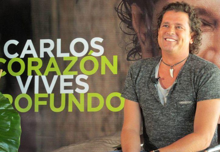 Carlos Vives volvió a firmar contrato con Sony en enero de este año. (EFE)