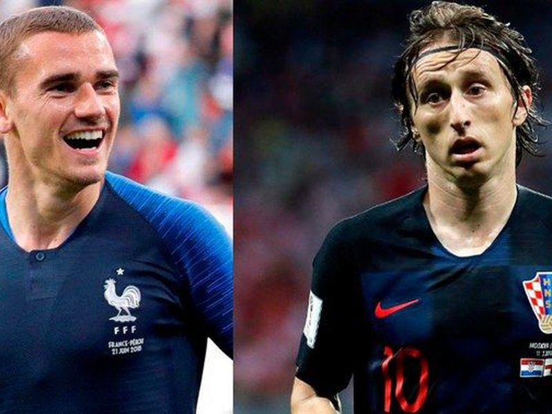 Francia y Croacia se han enfrentado cinco veces, y una de ellas en un Mundial, pero nunca en una final del Copa del Mundo (Foto tomada de libero.pe)