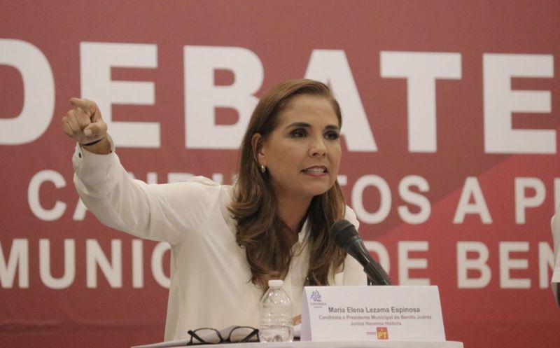 Mara Lezama llamó a la ciudadanía a formar parte del cambio que necesita la ciudad. (Redacción/SIPSE)