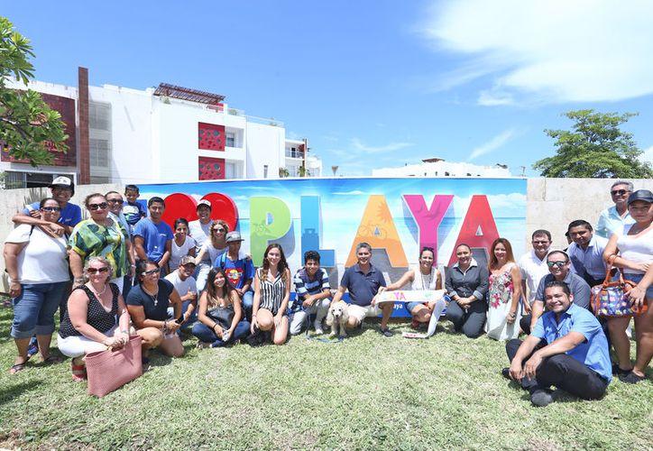 """Está ubicado en una de las paredes externas de la Concha Acústica, en la Plaza Cívica """"28 de Julio"""". (Redacción/SIPSE)."""