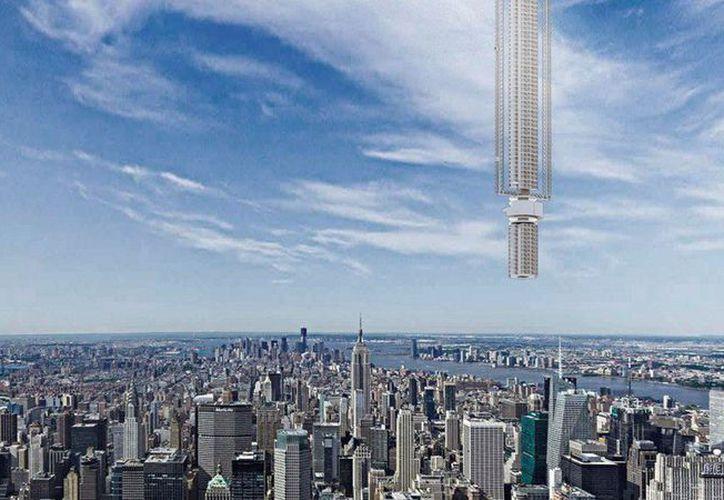 La megaestructura viajaría siguiendo una especie de 8 a lo largo del mundo. (Foto: Stephen Phillips/Twitter)