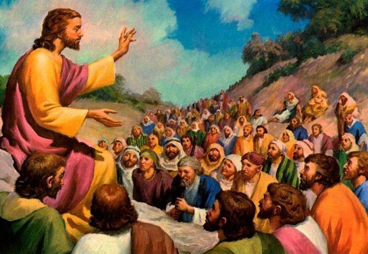 """Jesús es una parábola y hablaba con parábolas, pero a la la multitud Jesús les enseñaba de manera que """"pudieran entender"""" (v.33) y en cambio a sus discípulos les explicaba todo. (infovaticana.com)"""