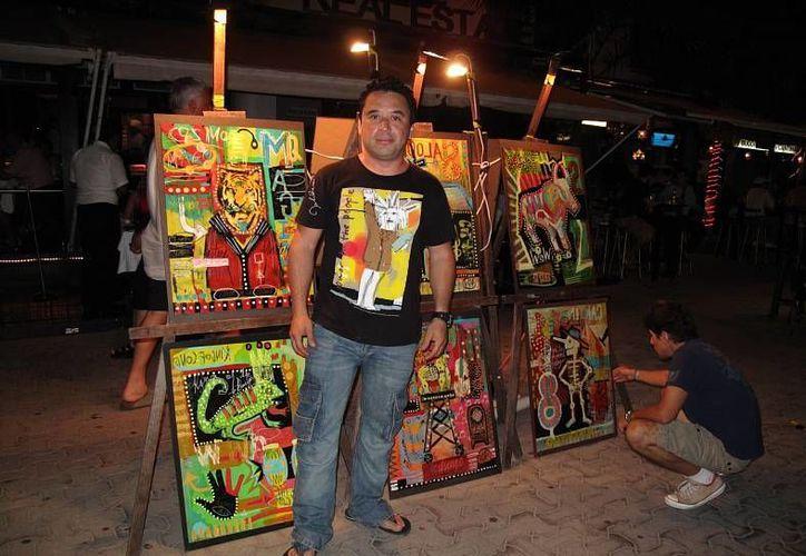 """La exposición """"Caminarte"""" se expone en la Quinta Avenida. (Luis Ballesteros/SIPSE)"""