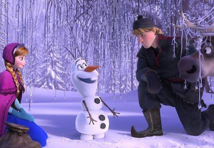 'Frozen' ganó el Oscar a Mejor cinta animada y Mejor canción original, por 'Let It Go', y ha sido una de las películas más taquilleras. (objetivocine.es)