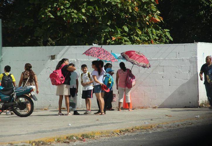 Mientras que este lunes la temperatura llegó hasta los 35 grados en Mérida, la Conagua pronostica que habrá lluvias y vientos en las próximas horas. (SIPSE)