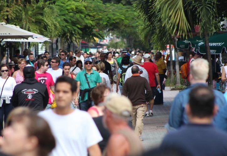 Este año la Riviera Maya pretende superar los 4.3 millones de visitantes. (Adrián Barreto/SIPSE)