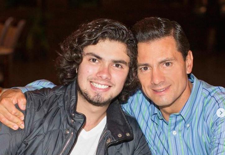 Alejandro destacó el esfuerzo de su padre en realizar las reformas estructurales, y aguantar las críticas. (Instagram)