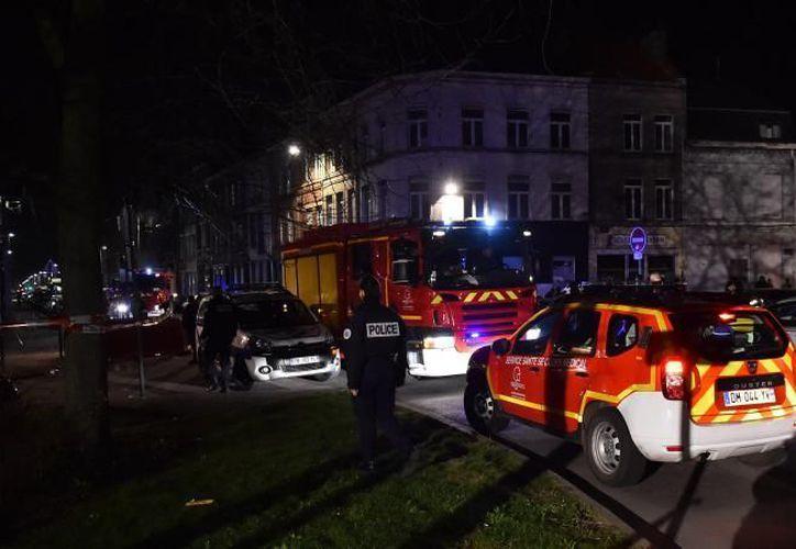 Este viernes la ciudad de Lille en Francia, registró un tiroteo. (Patrick Delecroix).