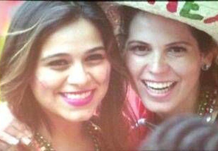 Griselda y Luz María Garza Cantú vivieron las emociones del encuentro. (Redacción/SIPSE)