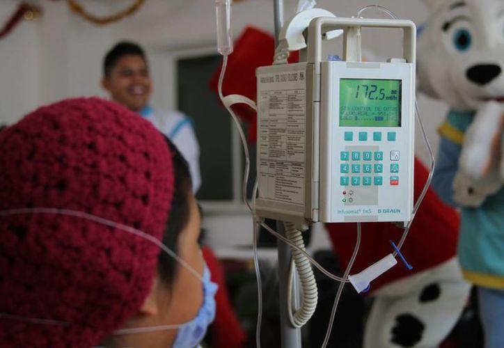 En todo el país se originan 122 casos de cáncer infantil por cada 100 mil niños. (Foto: Eddy Bonilla)