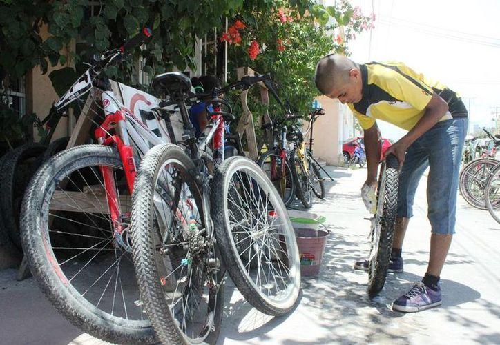 Casi 500 personas han sido víctimas de robo de bicicleta. (Daniel Pacheco/SIPSE)