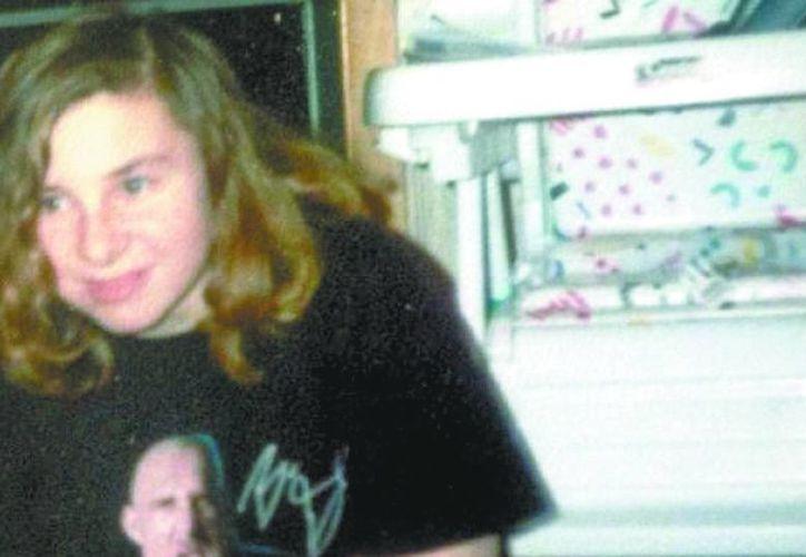 La primera de las tres secuestradas en Cleveland, en agosto de 2002. (Milenio)