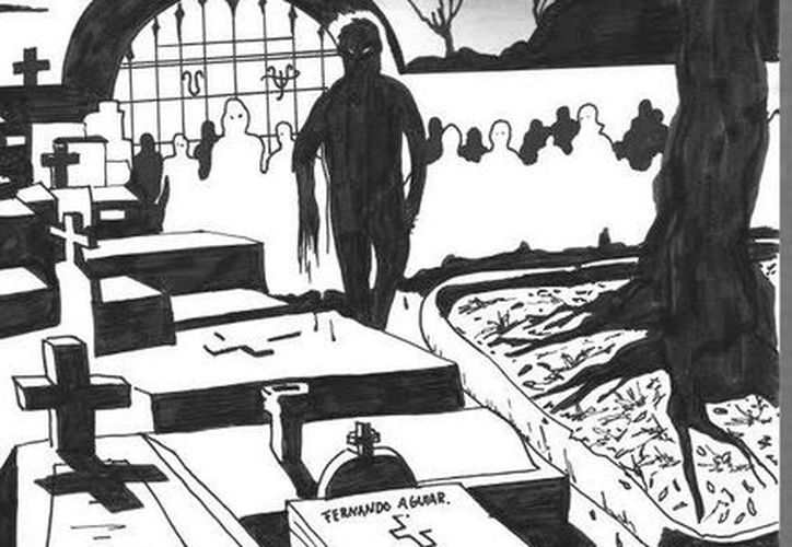 La explicación de las almas en pena que se aparecen en los cementerios es porque murieron en esos sitios. (Jorge Moreno/SIPSE)