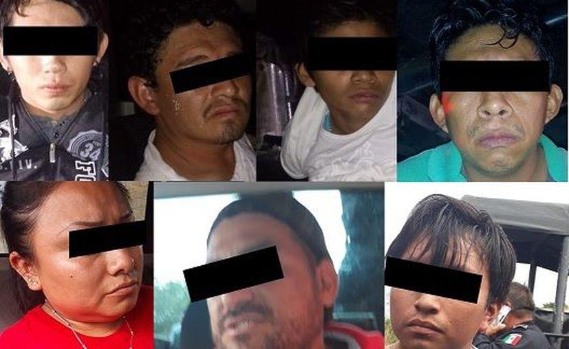 Entre los detenidos había un joven de 16 años.
