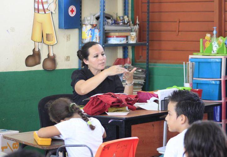 Todos los docentes recibirán este apoyo. (Archivo/SIPSE)