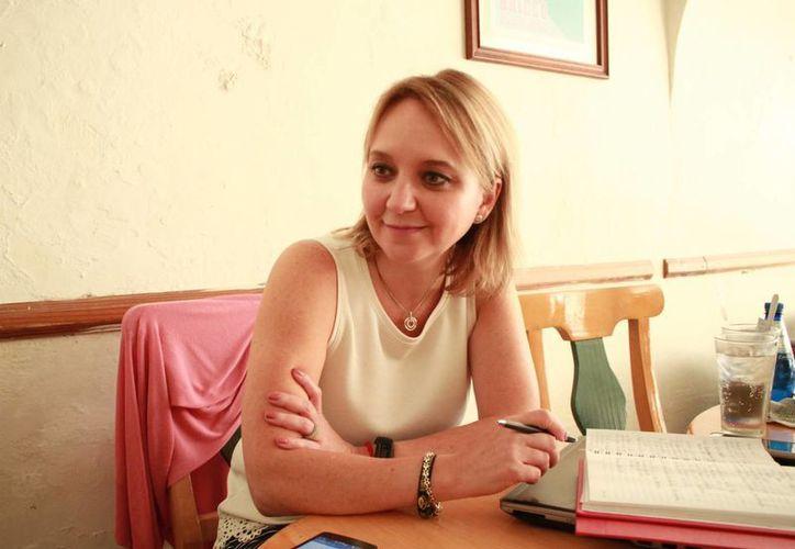 Marcela Cristo, directora de Sustentabilidad de Fundación Grupo Modelo.  (Milenio Novedades)