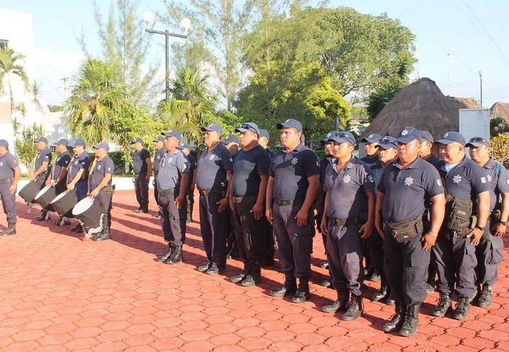 El 2 de enero es la fecha oficial del Día del Policía. (Raúl Balam/SIPSE)