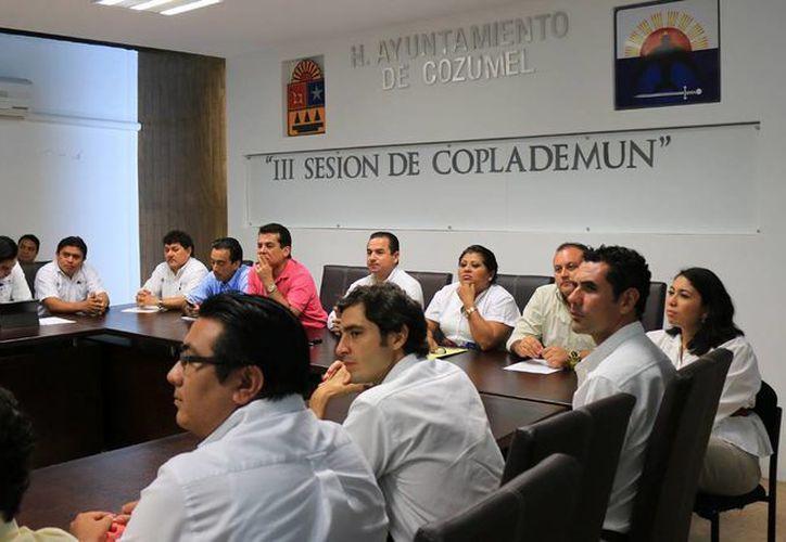 El Comité de Planeación para el Desarrollo Municipal de Cozumel sesionó por tercera vez hoy.  (Redacción/SIPSE)