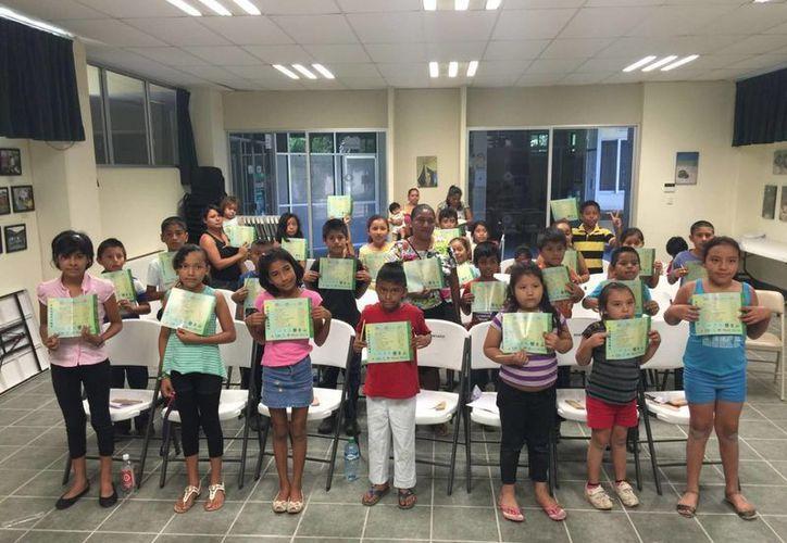 Este proyecto es el único en el país que promueve el conocimiento científico entre los infantes por medio de las nuevas tecnologías. (Ángel Castilla/SIPSE)