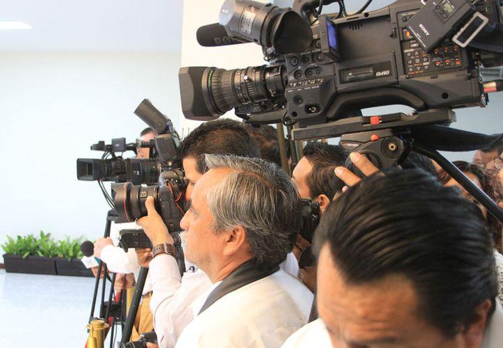 La diputada Eugenia Guadalupe Solís Salazar, propusó cobrar a periodistas por su seguridad. (Benjamín Pat/SIPSE).
