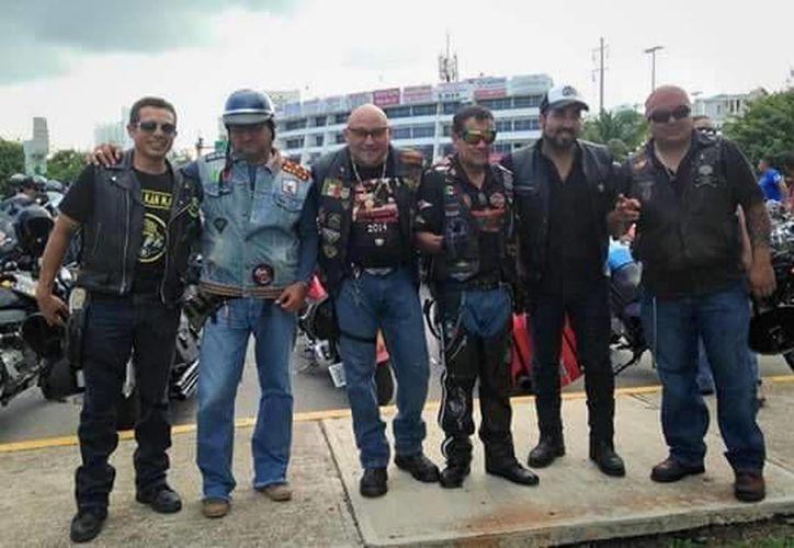 Los Motociclistas Unidos organizarán su evento anual este domingo 13 de diciembre. (Cortesía/Facebook)