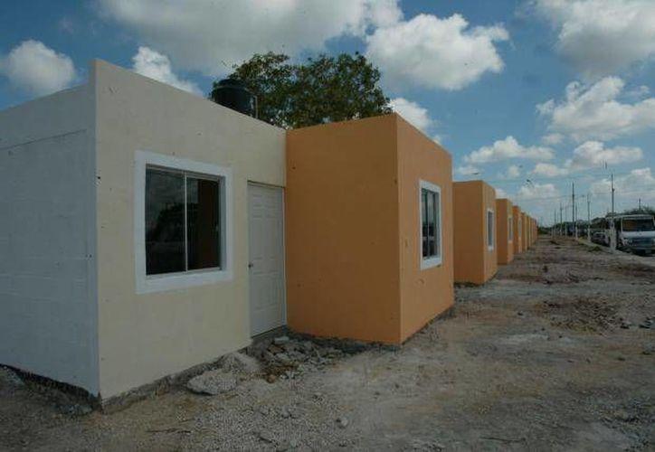Para los investigadores de la Uady, el reto es entender 'cómo vive la gente' en casas tan pequeñas. (Archivo/SIPSE)