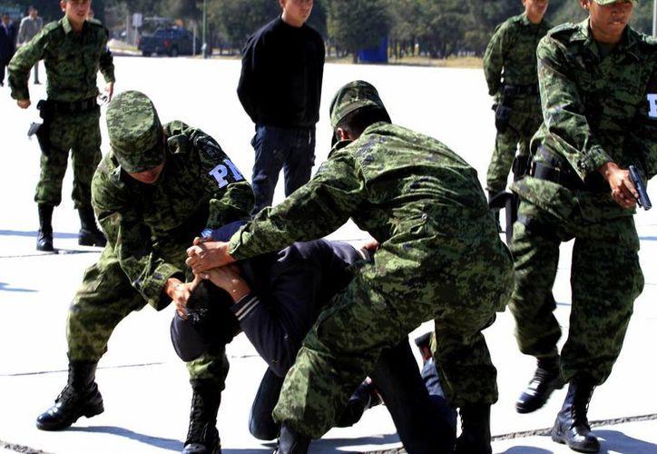 Proponen mejor equipamiento para las fuerzas armadas nacionales. (Notimex)