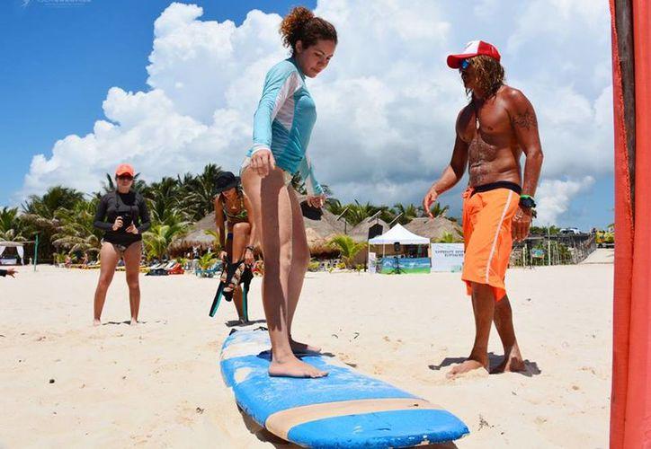 La Eliminatoria Estatal de Surf fue pospuesta por las malas condiciones del clima. (Foto: Redacción)