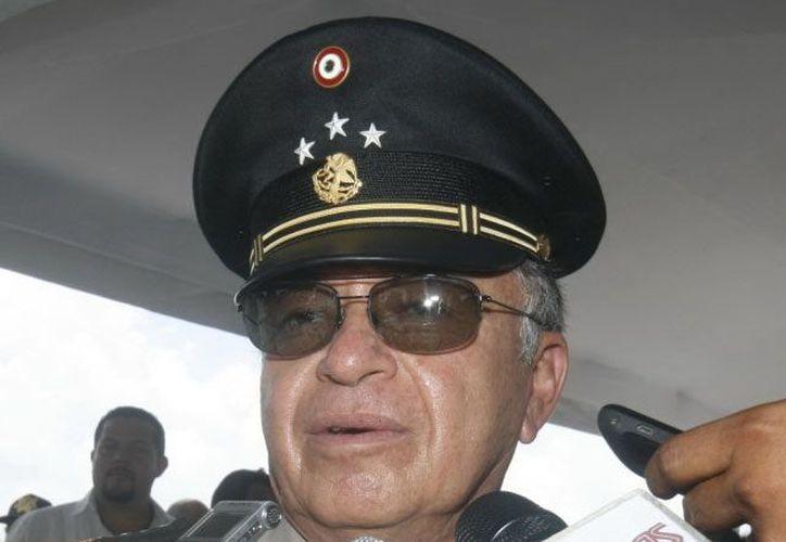 El general de División, Virgilio D. Méndez Bazán, entrega mañana el mando de la X Región Militar. (Archivo/SIPSE)