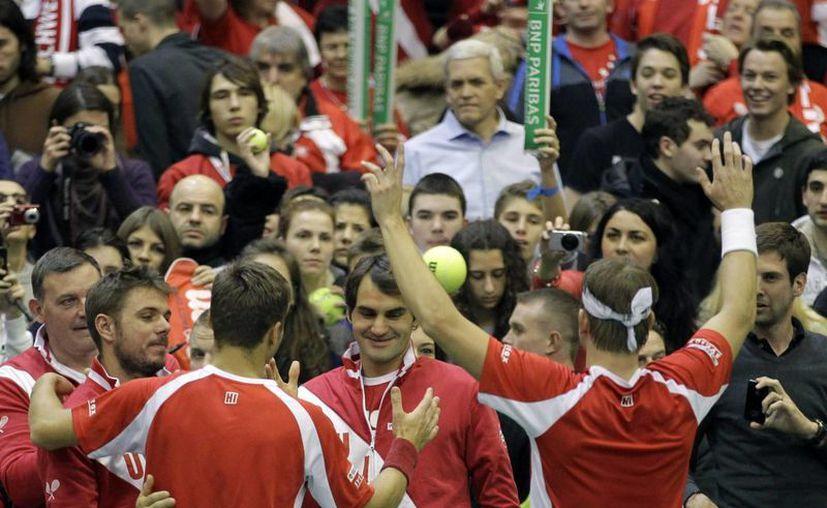 Suiza enfrentará al ganador entre Bélgica y Kazajistán. (Foto: Agencias)