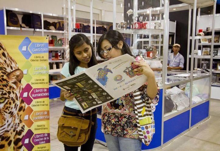La edición 2016 de la Feria Internacional de la Lectura Yucatán se realizará del 12 al 20 de marzo en el Centro de Convenciones Siglo XXI y en el Museo del Mundo Maya. (Imagen de contexto/Archivo Notimex)