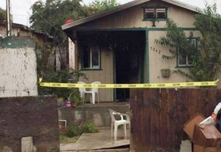 El triple homicidio sucedió en Tijuana por deuda de drogas; los hombres buscaban a la pareja de la víctima, quien era el que estaba involucrado. (Excelsior)