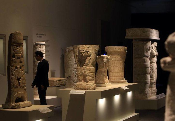"""La exposición """"Revelación de un tiempo sin fin"""" permanecerá en París hasta febrero de 2015. (Milenio Novedades)"""