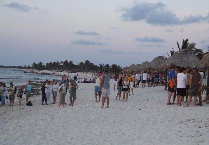 Los turistas serán alojados en refugios en caso de huracán. (Rossy López/SIPSE)