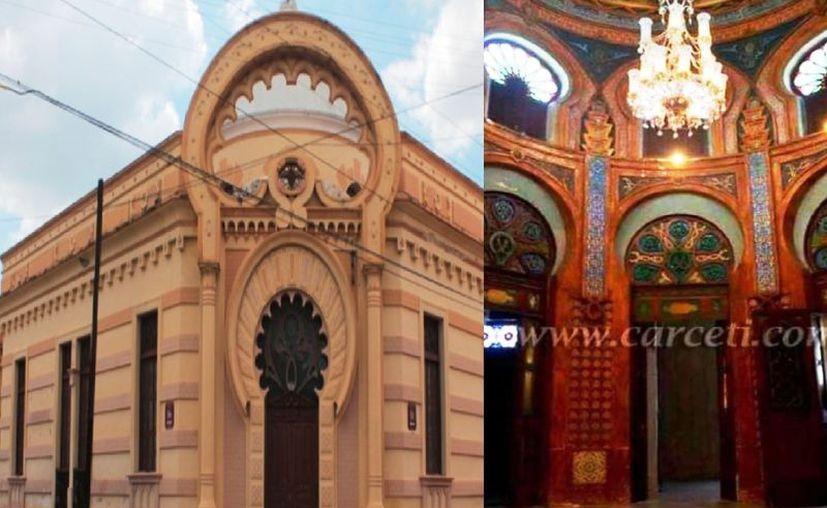 La Casa Morisca refleja una influencia arábica, que se ve en contadas casas de la ciudad de Mérida. (Novedades Yucatán)