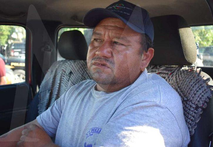 """Jorge Alberto Cardozo Gómez, propietario de la embarcación progreseña """"5 hermanos"""", víctima de los amantes de lo ajeno."""