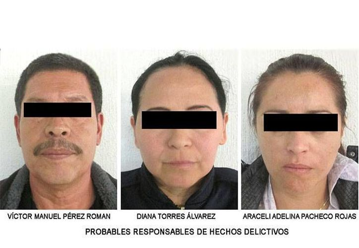 Durante el operativo fueron detenidas tres personas. (PGJ)