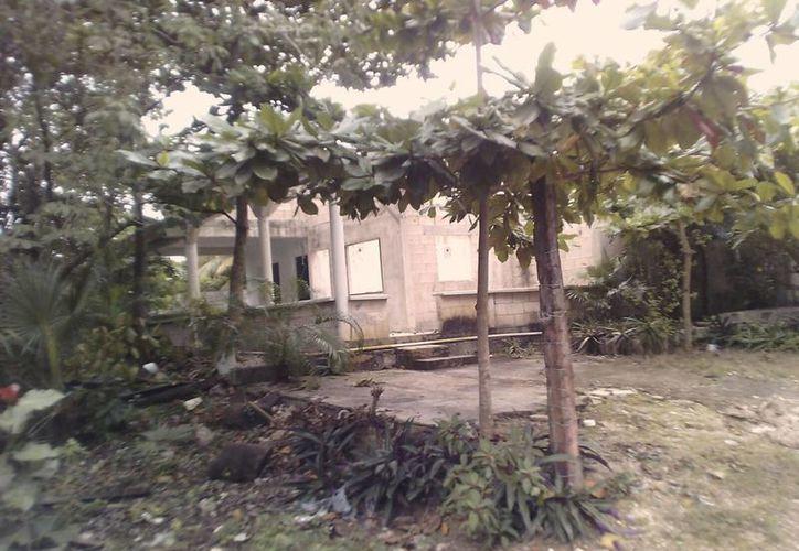 La vivienda del afectado se ubica en la colonia Libertad. (Eric Galindo/SIPSE)