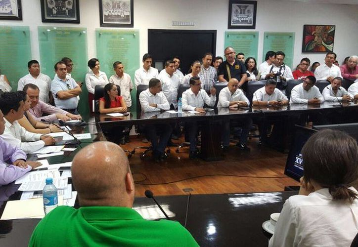 Se instaló la comisión de transporte presidida por el diputado Fernando Celaya. (Redacción/SIPSE)
