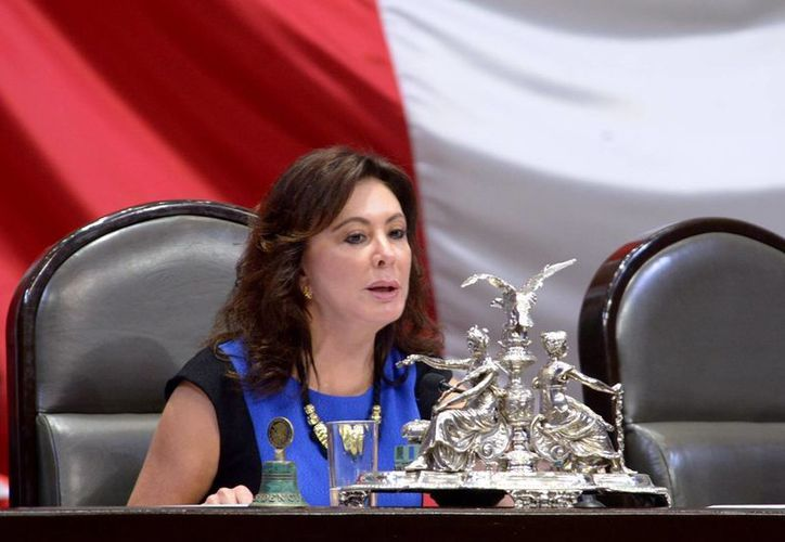 'Que no quede ninguna duda sobre los candidatos que impulsen los partidos, y que no haya intervención de las bandas criminales', pide la diputada Beatriz Zavala Peniche. (SIPSE)