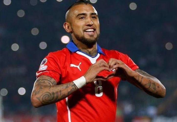 El mediocampista Arturo Vidal ya está en Santiago para enfrentar con su selección la doble fecha eliminatoria del 1 y 6 de septiembre. (Archivo/ AP)