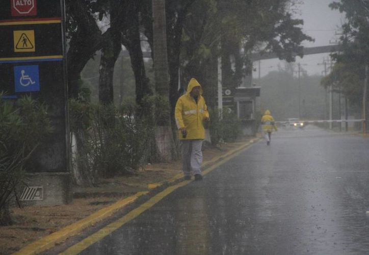 Las lluvias aisladas en el sur del Estado permanecerán pro 24 horas más. (Harold Alcocer/SIPSE)