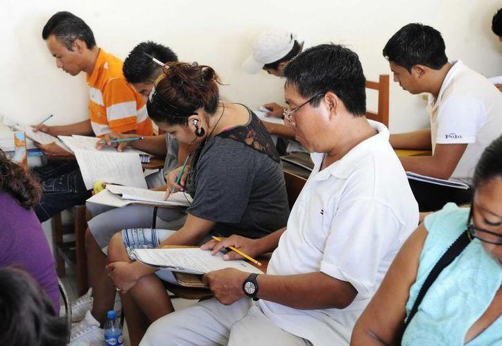 El objetivo es acabar con el rezago educativo y mejorar las oportunidades de vida de los habitantes. (Redacción/SIPSE)
