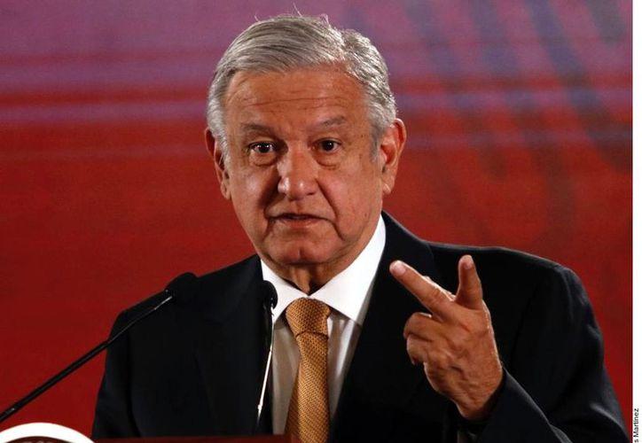 El Presidente Andrés Manuel López Obrador fue cuestionado sobre el fallo que emitió la Sala Superior del Tribunal electoral federal sobre el caso Anaya. (Foto: Reforma/Tomás Martínez)