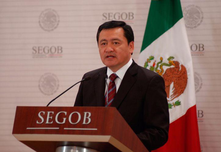 Miguel Ángel Osorio Chong  se despidió como secretario de Gobernación. (Redacción)