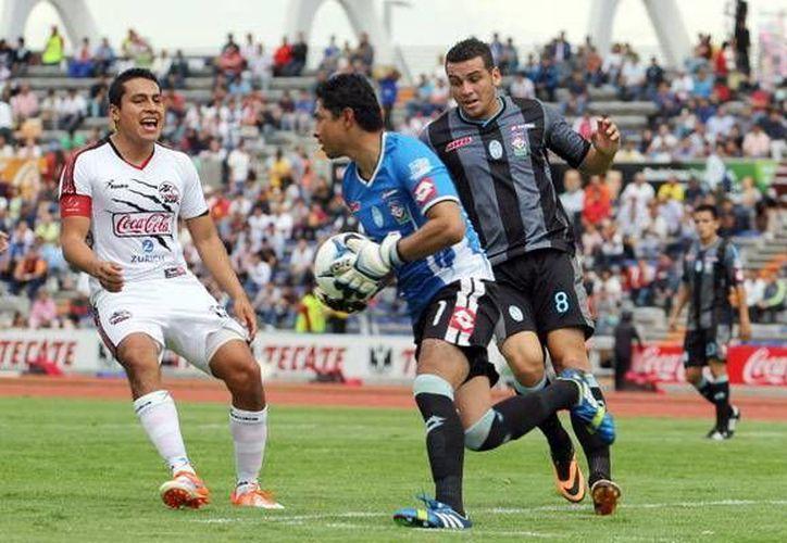 Ricardo Valiño repitió su cuadro ante los Lobos BUAP y le dio buenos resultados. (SIPSE)