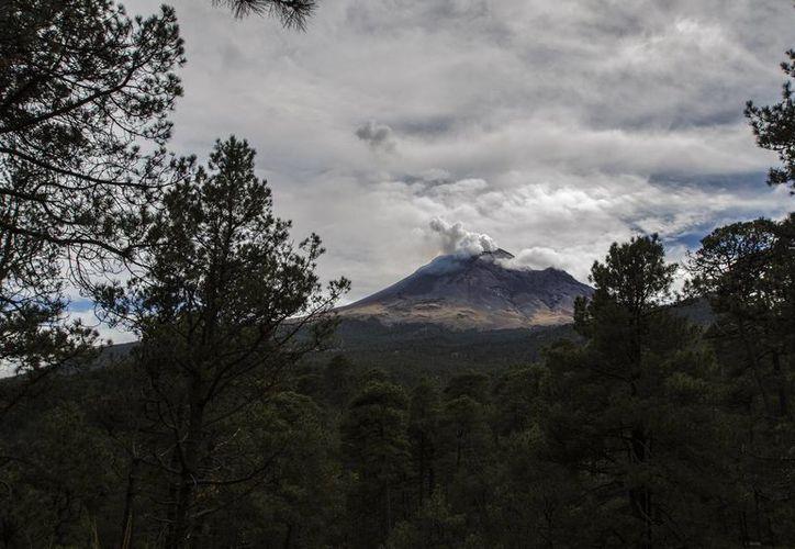 El Cenapred mantiene el semáforo de Alerta Volcánica en Amarillo Fase 2, ya que la actividad reportada está prevista en los parámetros de esa etapa. (Archivo/Notimex)