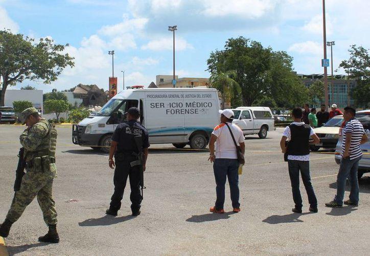 Las acciones se dieron en las cercanías de la colonia Ejidal Sur y la Bellavista. (Octavio Martínez/ SIPSE)